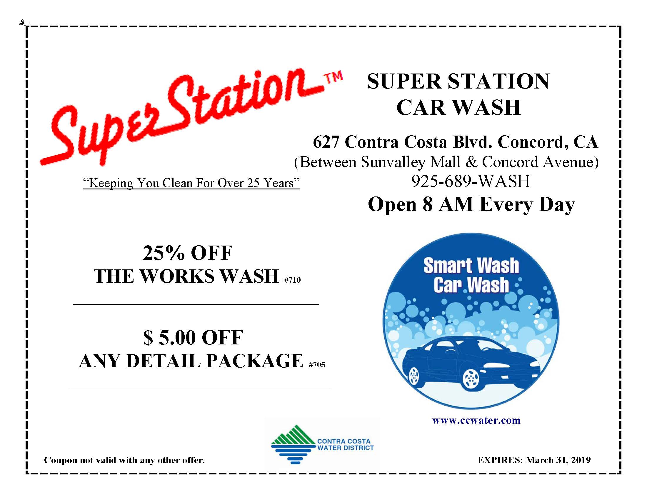 Super Station Coupon