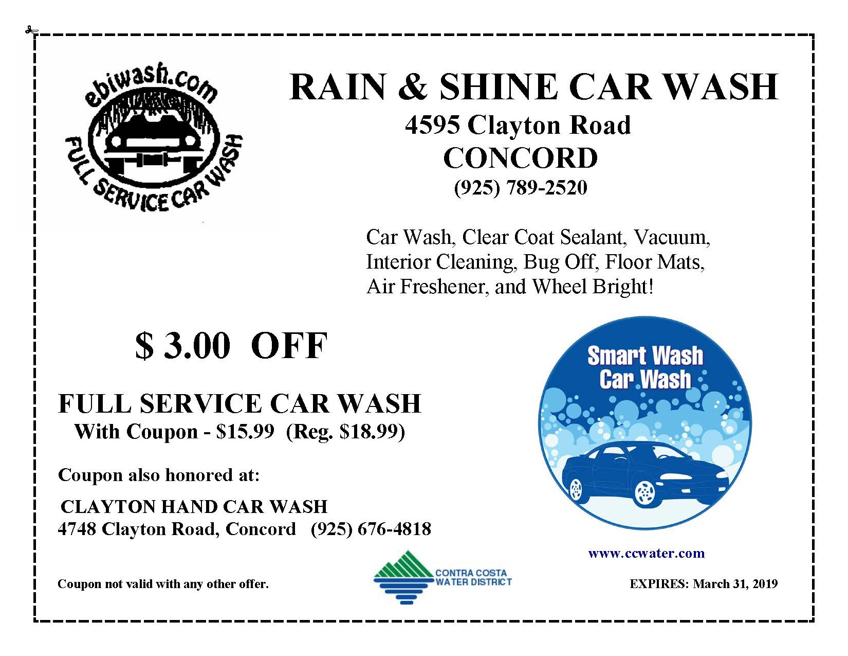Rain and Shine Coupon