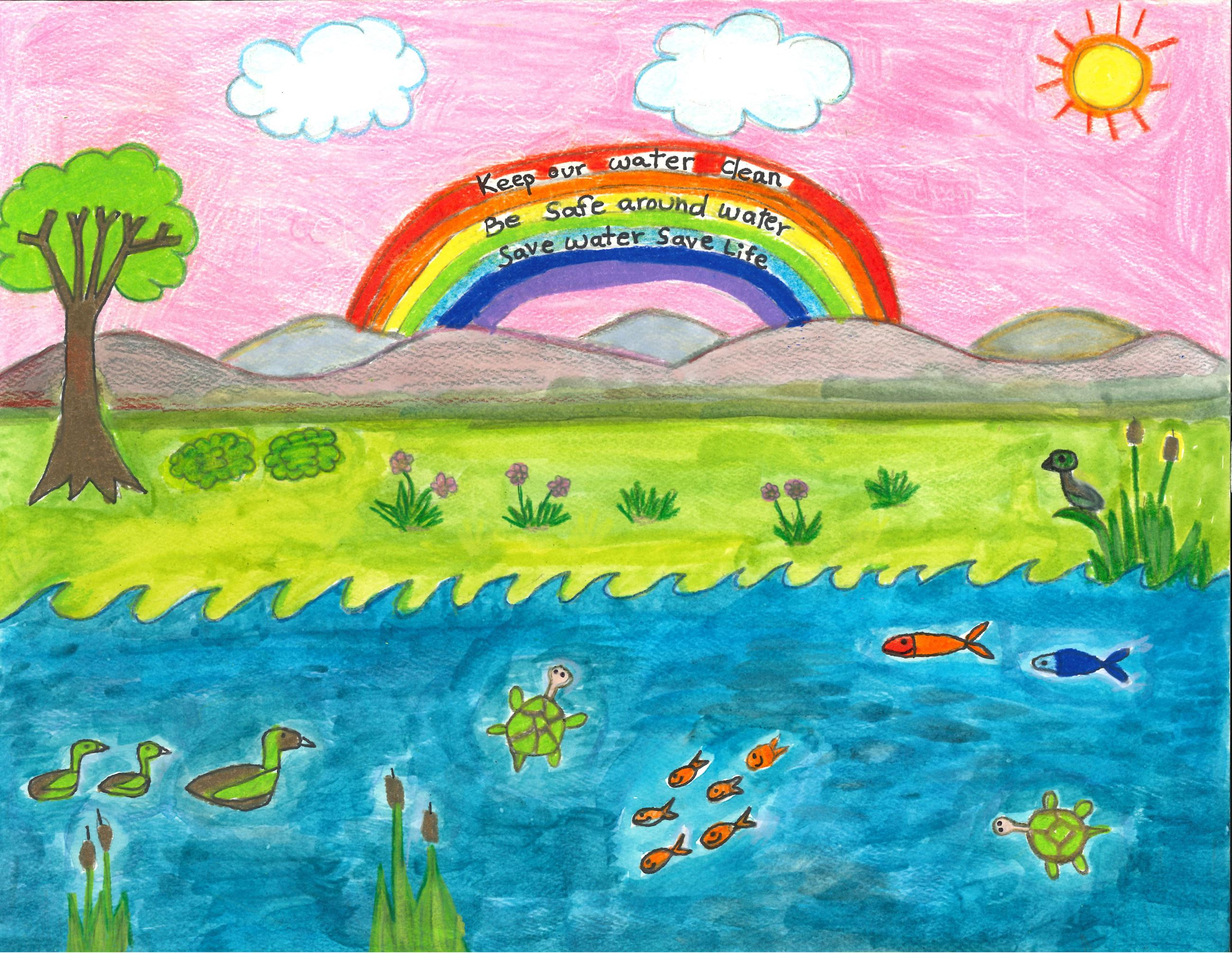 Water Awareness Youth Art Contest Contra Costa Water District Ca