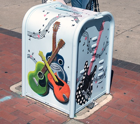 Concord Utility Box Art Project
