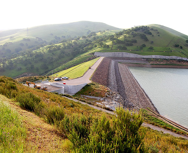 Dam before project